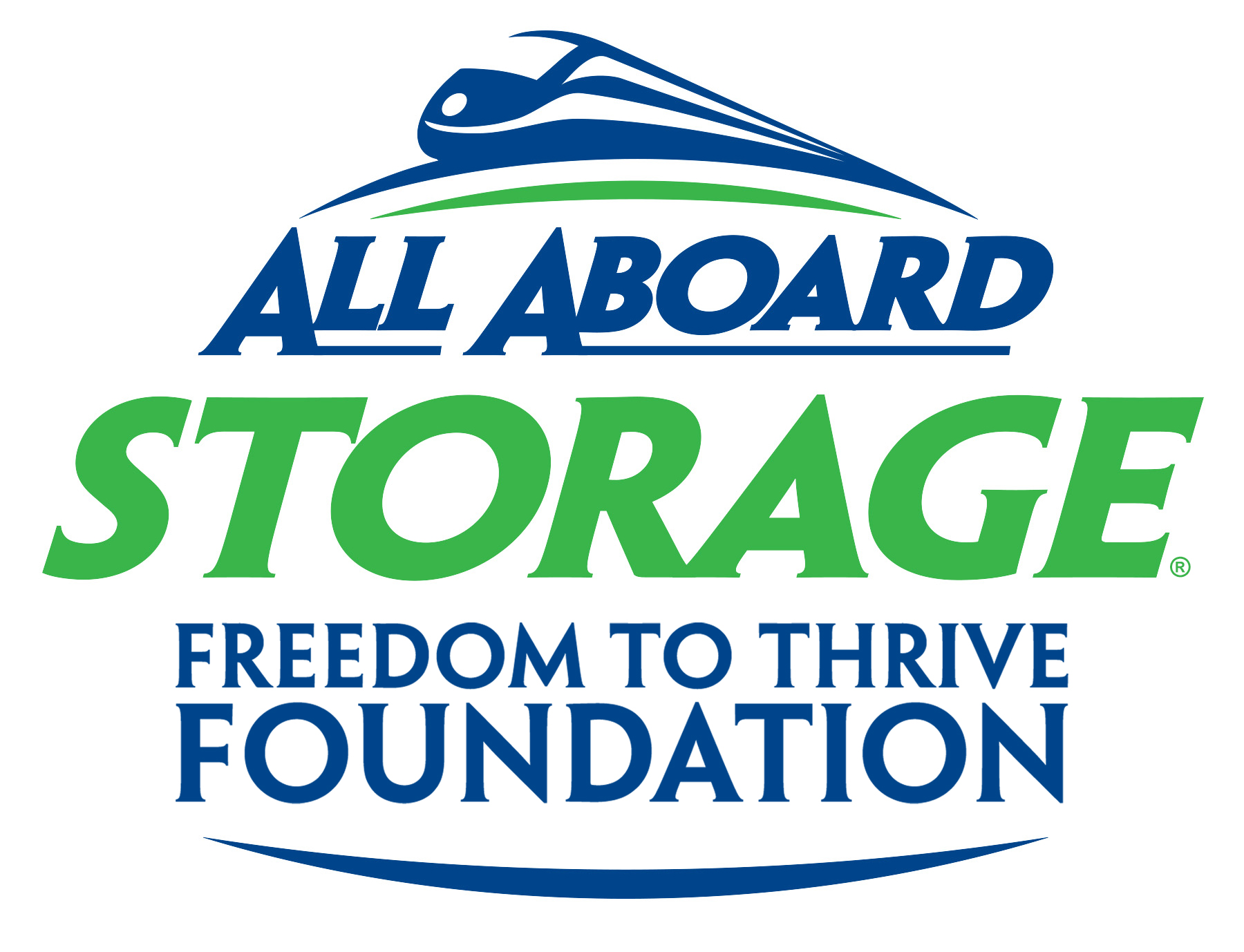 All Aboard Storage Freedom to Thrive Foundation